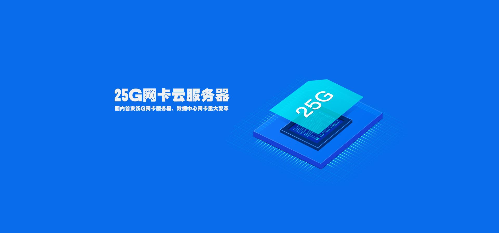 25G网卡云服务器