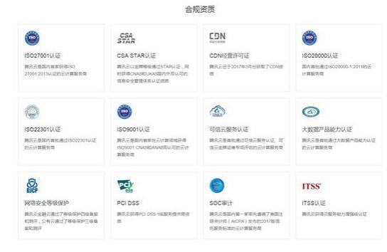 26项合规资质历练之路:腾讯云如何成就合规云服务商